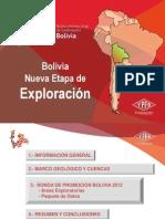 Geologia Bolivia Ypfb