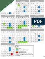 BHS AMS Chapter Calendar 2013-2014