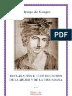 Declaracion de Los Derechos de La Mujer y de la Ciudadana - Olympe de Gouges