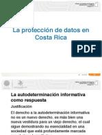 Presentacion La Proteccion de Datos en Costa Rica