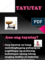 Tayutay