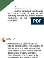 Internal Audit III