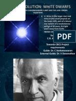 Stellar Evolution- White Dwarfs