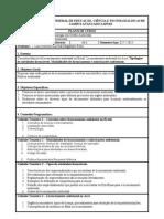 Plano de Curso Licenciamento Ambiental