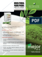 Nutrilite - Fibra en Polvo