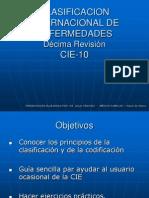 CIE 10 - Historia y UsoN