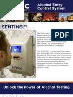 Sentinel Automatic Breath Alcohol Testing Station