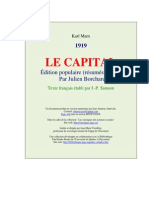 Karl Marx LE CAPITAL (1919)