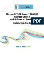 SQL Server 2008 R2 Express Edition With Advanced Services Installation Guide