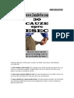 30 Cauze Spre Esec (1)