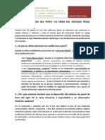 La Crisis Del Enfoque Penal Moderno.