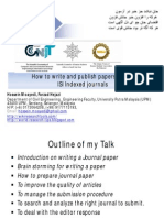How to Write and Publish ISI Papers (Level 1)