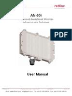 Redline An80i User Manual