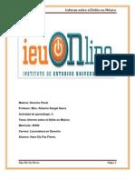 Trabajo Informe Sobre El Delito en Mexico