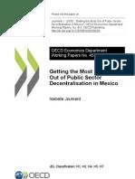 Decentralisation in Mexico