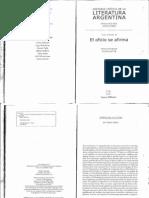 Jitrik Noe - Historia Critica de La Literatura Argentina - Tomo 09