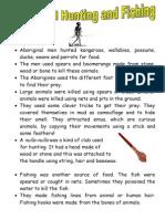 Aboriginal Fact Sheets