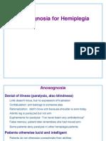 Anosognosia for Hemiplegia