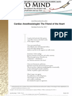 Anesthesiology Poem