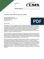 Parkland InCompliance Letter 08-07-2013