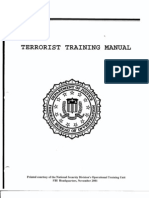 FO B3 Public Hearing 1-26-04 1 of 3 Fdr- Tab 3-4 Excerpt From DOJ Version of Al Qaeda Training Manual (Total in Folder) 683