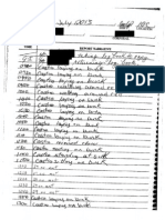 Castro Log July 31 to Aug 2_ REDACTED
