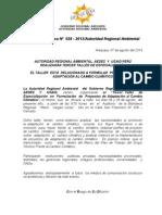 BOLETIN DE PRENSA 028 - 2013 - III TALLER FORMULACION PROYECTOS ADAPTACIÓN AL CC
