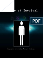 Matter of Survival Rulebook
