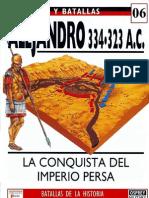 006.ALEJANDRO. 334-323 a.C