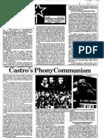 PLP - Castro's Phony Communism