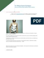 Estreñimiento Por Reflujo Gastro Esofagico-curar reflujo gastroesofagico gastritis