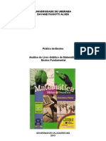 Analise Do Livro Matematica