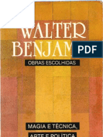 Magia e Técnica, Arte e Política – Walter Benjamin