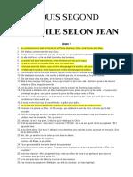 Jean — Evangile selon Jean