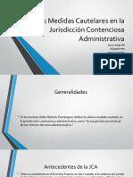 Las Medidas Cautelares en La JCA - PP