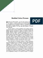 Realidad Lírica Peruana / Abraham Arias Larreta (1941)