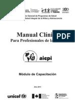 AIEPI Manual de Profesionales 2011