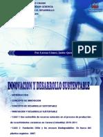 Innovación para el desarrollo sustentable
