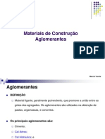 Aula_2_Materiais de Construcao I-Aglomerantes