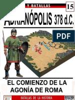 015.ADRIANÓPOLIS. 378 d.C