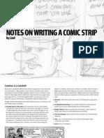 Notes Comic Strip