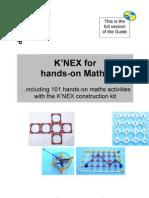 K'nex maths