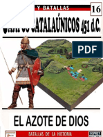 016.CAMPOS CATALAÚNICOS. 451 d.C
