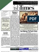 Jewish Times - Volume I,No. 27...Aug. 9, 2002