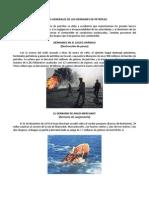 CAUSAS GENERALES DE LOS DERRAMES DE PETRÓLEO