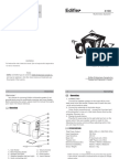 Manual Usuaruis x1-400