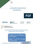 Presentanci+¦n exp estudiantes CUYO