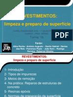 Revestimentos Limpeza e Preparo de Superficie - Quimica.pptx