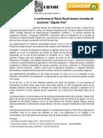 Boletín de prensa CAP-CONOC-CONORP - 7 de agosto de 2013