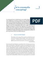 Proefhoofdstuk (h1) Basisboek-crossmedia Concept I